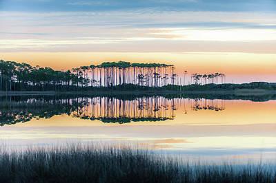 Photograph - Western Lake Pastel by Kurt Lischka