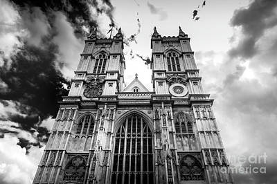 Minimalist Movie Quotes - Westminster Abbey by Micah May
