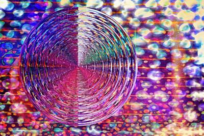 Digital Art - Wet Mardi Gras by Mike Braun
