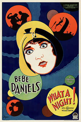Granger - What a Night, with Bebe Daniels, 1928 by Stars on Art