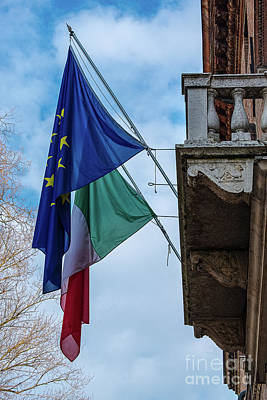 Staff Picks Judy Bernier Rights Managed Images - What will happen to Italy?  Royalty-Free Image by Marina Usmanskaya