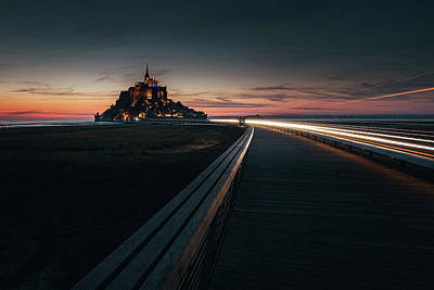 Photograph - When the Night Comes by Andrei Dima
