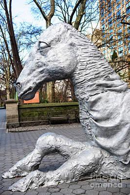 The Beatles - Whimsical Horse by Anna Serebryanik