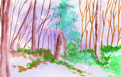 Moody Trees - Whimsical Woods 5 Adventure by Earl Rina