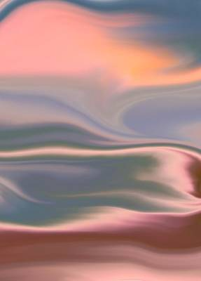 Surrealism Royalty-Free and Rights-Managed Images - Whispering Winds by Abstract Art By Erica