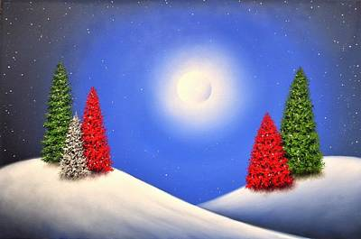 Royalty-Free and Rights-Managed Images - White Christmas by Rachel Bingaman