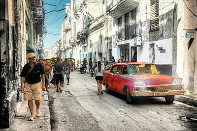 Lucille Ball - White lies street by Micah Offman