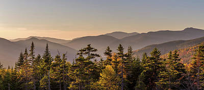 Mid Century Modern - White Mountains in Autumn by Pierre Leclerc Photography