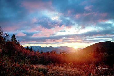 Dan Beauvais Royalty-Free and Rights-Managed Images - White Mountains Sunrise 4250 by Dan Beauvais