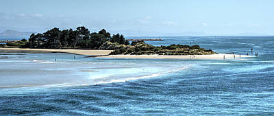 City Scenes - White sand blue ocean by Joann Long
