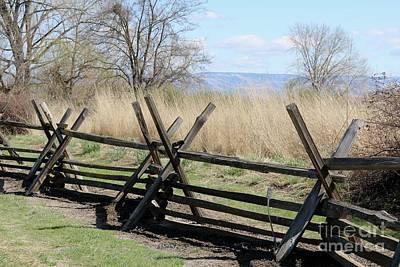 Pasta Al Dente - Whitman Mission Fence by Carol Groenen