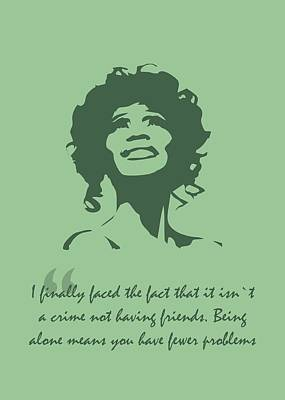Royalty-Free and Rights-Managed Images - Whitney Houston Quote by Ahmad Nusyirwan