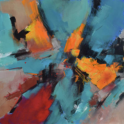 Abstract Airplane Art - Why Not by Elise Palmigiani