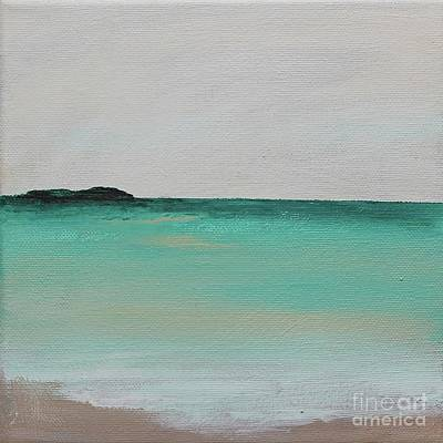 Painting - Wide Open Mint by Kim Nelson
