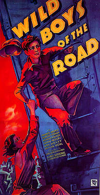 Firefighter Patents Royalty Free Images - Wild Boys of the Road - 1933 Royalty-Free Image by Stars on Art