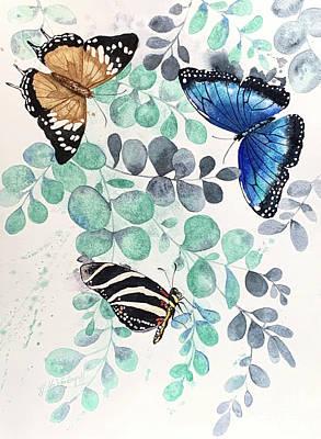 Keith Richards - Wild Butterflies by Hilda Vandergriff