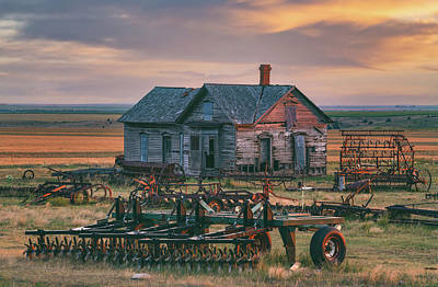 Royalty-Free and Rights-Managed Images - Wild West Sunset by Darren White