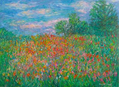 Achieving - Wildflower Meadow by Kendall Kessler