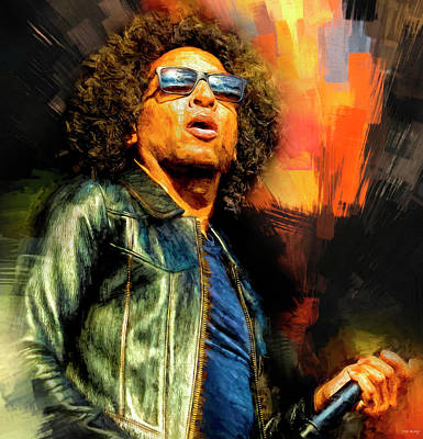 Miles Davis - William DuVall Alice in Chains by Mal Bray