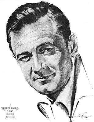 Drawings Royalty Free Images - William Holden by Volpe Royalty-Free Image by Stars on Art