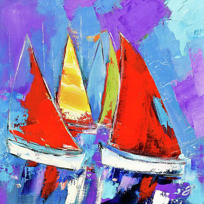 Royalty-Free and Rights-Managed Images - Wind in the sails by Elise Palmigiani
