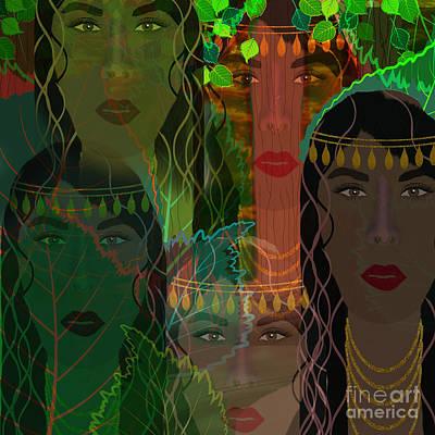 Cartoons Tees - Windows Of Woman by Diamante Lavendar
