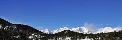 Jerry Sodorff Royalty-Free and Rights-Managed Images - Windy Peaks 4385 DS by Jerry Sodorff