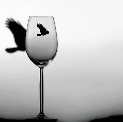 Fantasy Royalty-Free and Rights-Managed Images - Wine Flight by Susan Maxwell Schmidt