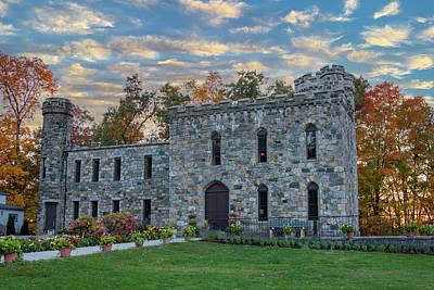 Global Design Shibori Inspired - Winnekenni castle in Haverhill Massachusetts by Jeff Folger