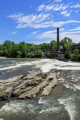 Royalty-Free and Rights-Managed Images - Winooski Vermont 2 by David Beard