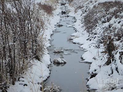 Caravaggio - Winter Calm by Robert Lowe