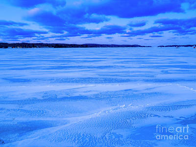 Royalty-Free and Rights-Managed Images - Winter Dawn on Portage Lake by Twenty Two North Photography