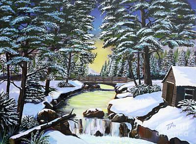 Painting - Winter by Gary 'TAS' Thomas