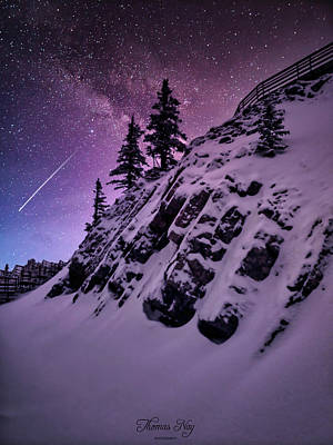 Photograph - Winter night by Thomas Nay