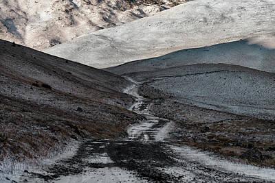 Photograph - Winter road by Bez Dan