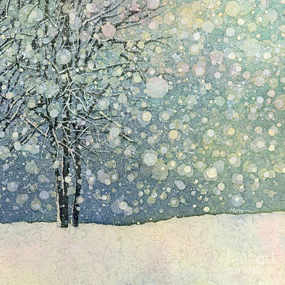 Ethereal - Winter Sonnet-Square Format by Hailey E Herrera