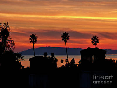 Photograph - Winter Sunset with Islands by Julieanne Case