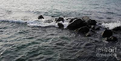 Fantasy Royalty-Free and Rights-Managed Images - Winter Waves by Maria Faria Rodrigues