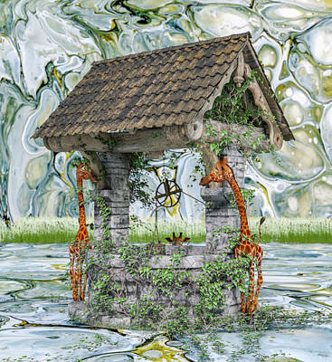 Animals Royalty-Free and Rights-Managed Images - Wishing Well by Betsy Knapp