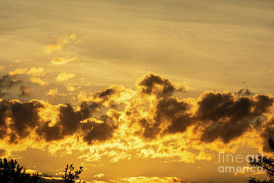 Vintage Performace Cars - Wispy Cloud Sunset by Ruth H Curtis