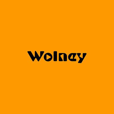 Digital Art - Wolney by TintoDesigns