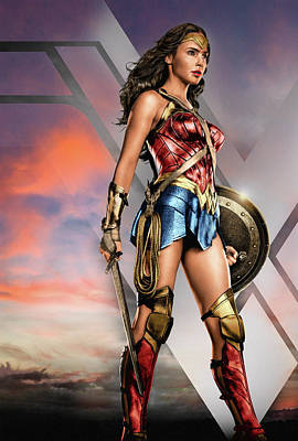 Bringing The Outdoors In - Wonder Woman Zack Snyders Justice League by Abilio Fernandez