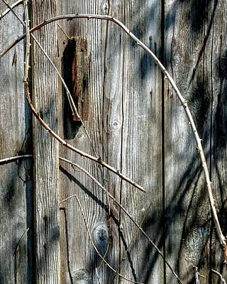 Jerry Sodorff Royalty-Free and Rights-Managed Images - Wooden Door Latch 2 by Jerry Sodorff