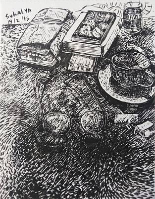 Drawing - Work Space by Sukalya Chearanantana