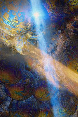 Digital Art - World Divination by Mike Braun