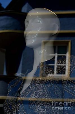 Photograph - World In Blue by Karen Nadine