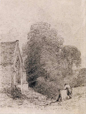 Caravaggio - Wormingford Church John Constable by Artistic Rifki