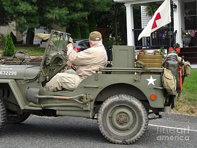 Just Desserts - WWII Medical Jeep by GJ Glorijean