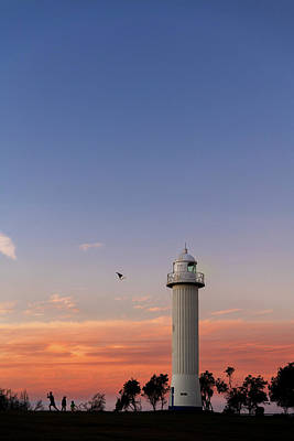Impressionist Landscapes - Yamba Lighthouse NSW DSC_7282 by Stephen Reid