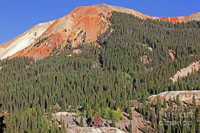 Angels And Cherubs - Yankee Girl Mine Red Mountain Colorado by John Stephens